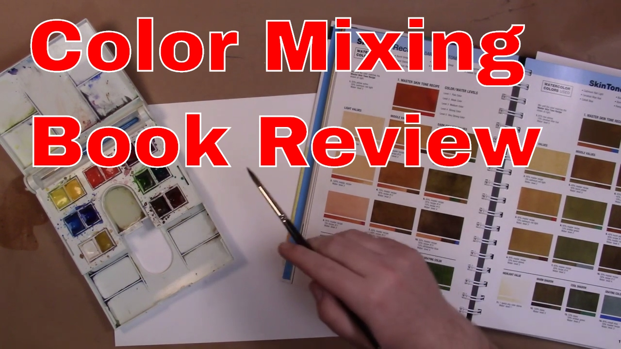 Art Book Review - 1500 Color Mixing Recipes - YouTube