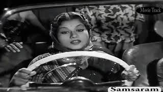 Savitri Garu Firstly Suppose To Act In This Scene || Samsaram Bit || Tamil Version