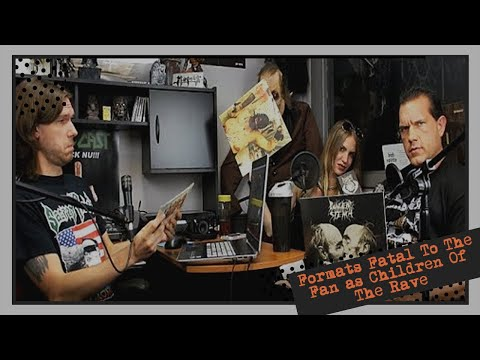 Formats Fatal To The Fan as Children Of The Rave | HELLCAST Metal Podcast Episode 91