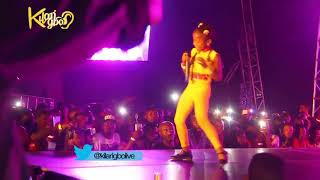Wow! Little Girl  Murder Tiwa savage's Song On Stage   At 'JOOR CONCERT 3