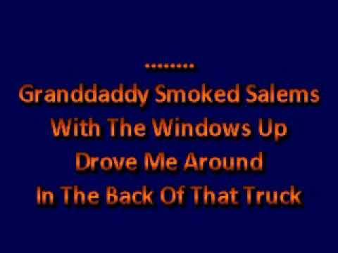 Blake SheltonI Lived It karaoke