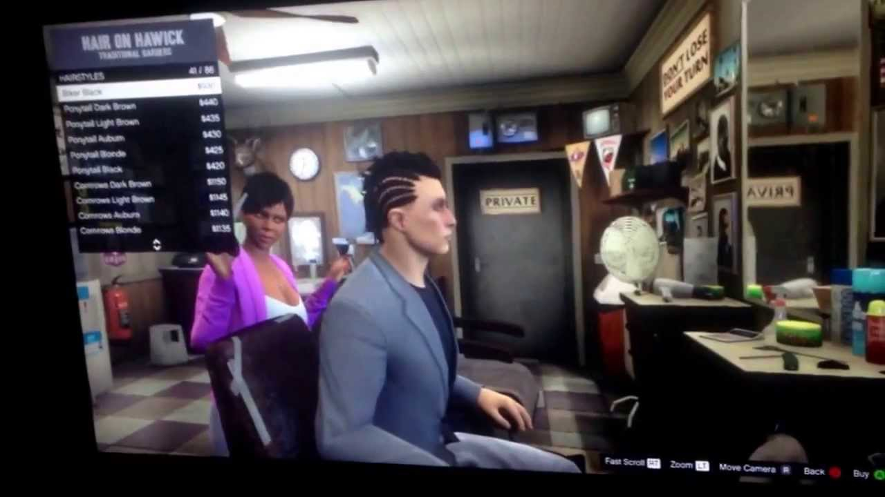 Gta 5 Online Haircut Glitch Youtube