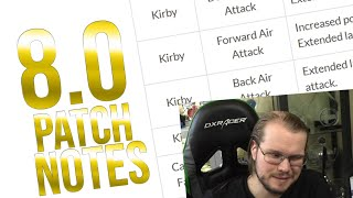 Armada reads the 8.0 PATCH NOTES!