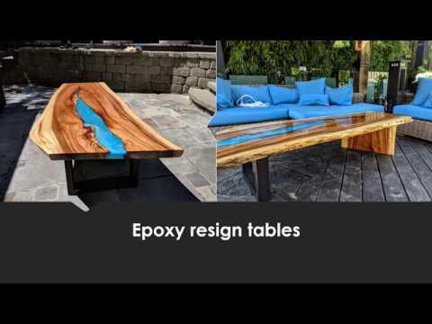 Wood Touch I Custom wood work I Epoxy resign tables  NJ, NY, CT, LI