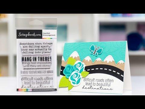 Create Handmade Heartfelt Cards That Give Hope | Scrapbook.com Exclusive