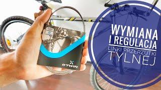 Wymiana i regulacja linki przerzutki tylnej w rowerze - Poradnik Rowerowy Zrób To Sam