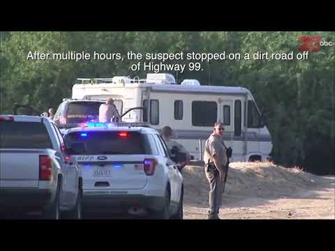 Breakdown of RV chase from LA to Kern County that ended with suspect escaping