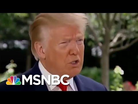 Trump Again Said He Hopes Coronavirus Will 'Disappear' | Morning Joe | MSNBC