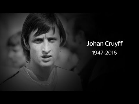 Johan Cruyff ► O homem que fez o Futebol Total realidade The man who made Total Football reality