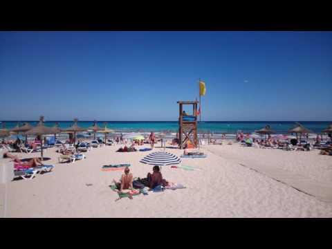 Mallorca 2016 - Sa Coma beach 4K
