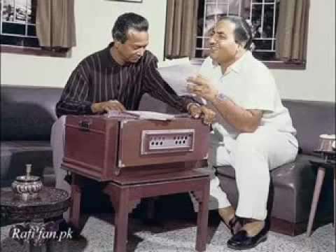 M.rafi in original voice singing song of baiju bawra with comentry from nausadji