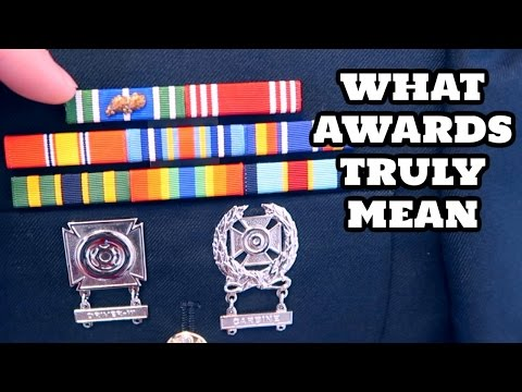 I GOT AN AWARD! WHAT ARMY AWARDS TRULY MEAN TO ME