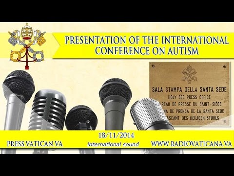 Presentation of the International Conference on autism - 2014.11.18