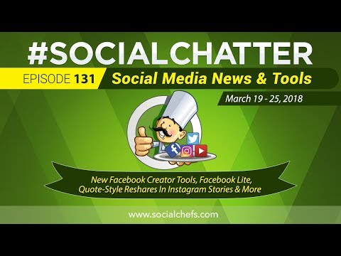 Social Media Marketing Talk Show 131 - LinkedIn Video Filters and Instagram Hashtag & Profile Links