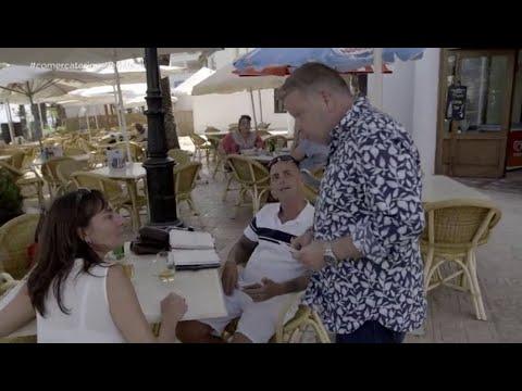 La reacción de la dueña de un catering ilegal en Ibiza ante la presencia de Chicote