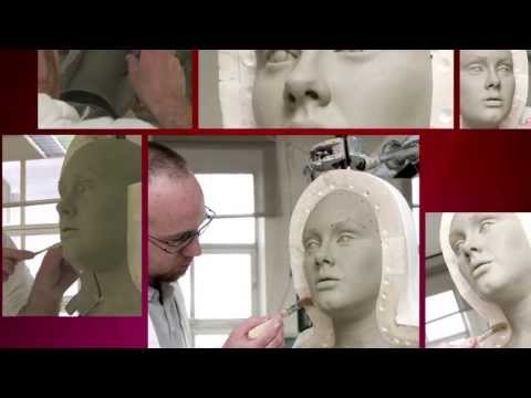 The making of Adele's wax figure - Madame Tussauds London