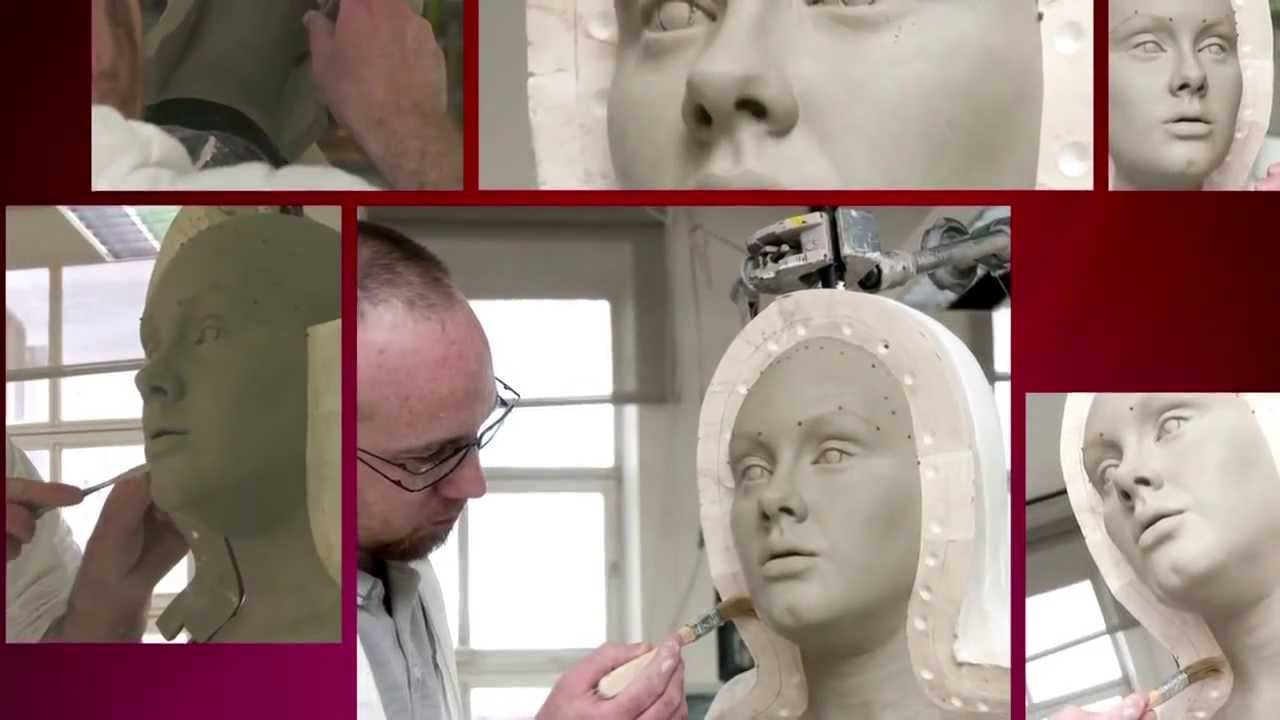 How wax figures are created in Madame Tussauds