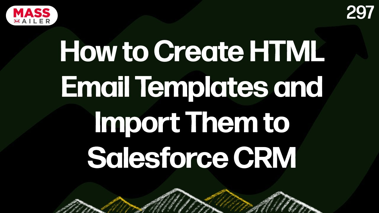 How To Create Html Email Templates And Import Them To Salesforce Crm