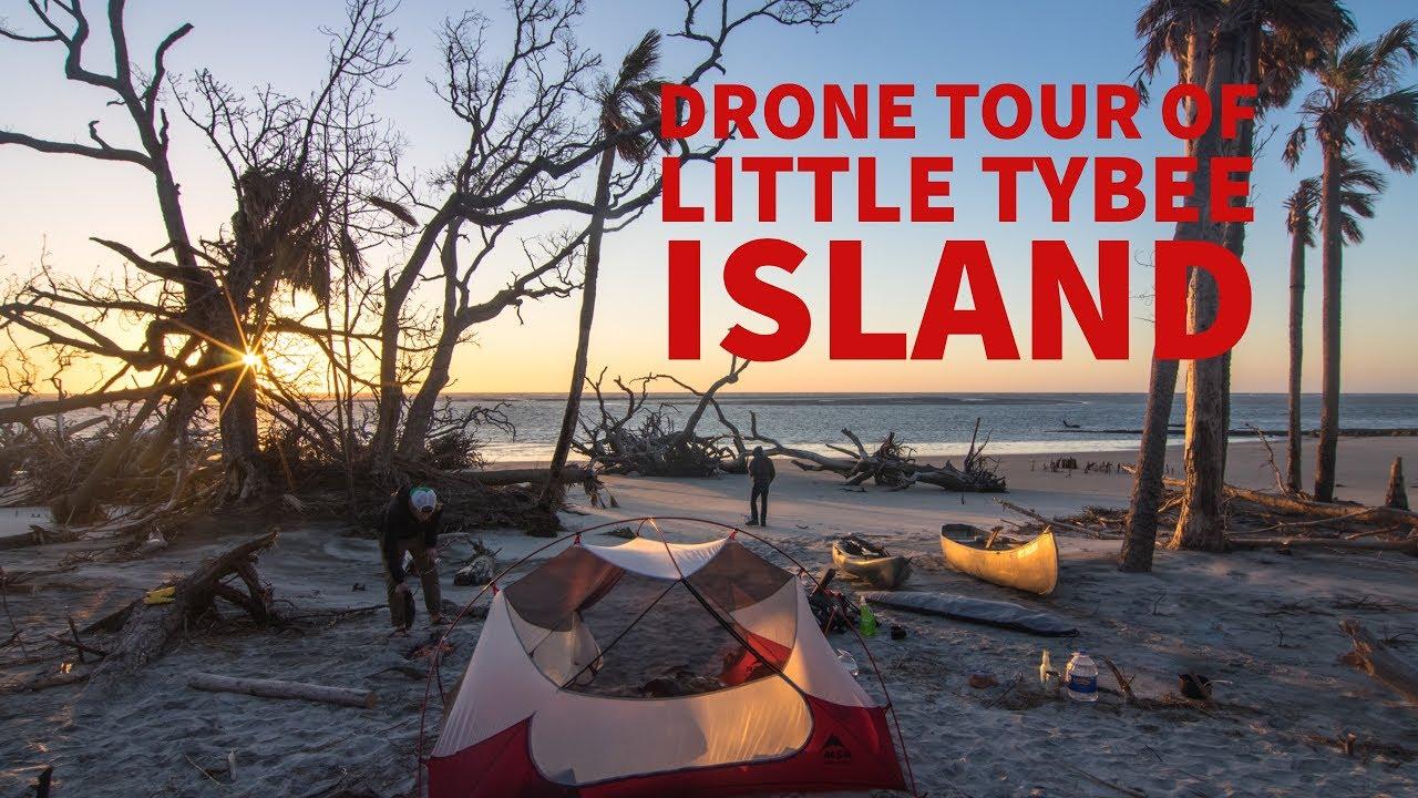 Drone Tour Of Little Tybee Island