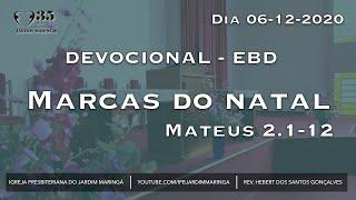 Mateus 2.1-12 - Marcas do Natal