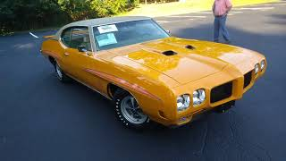 1970 Pontiac GTO Judge.