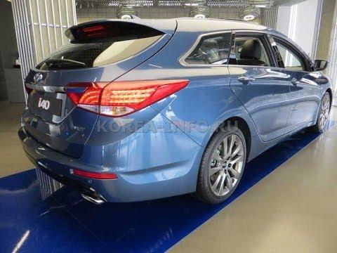 Обзор Hyundai i40 универсал из Южной Кореи