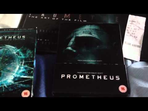 Prometheus Blu-Ray Features, Alternative Endings And Bonus ...