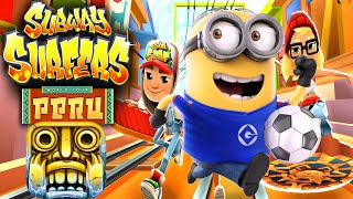 Despicable Me 2: Minion Rush Temple Run 2 Subway Surfers Tour In PERU!