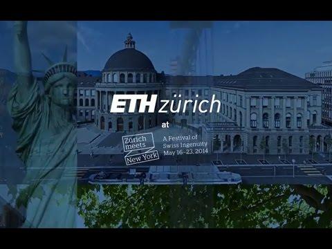 "Highlights: ETH Zurich at the ""Zürich meets New York"" festival"