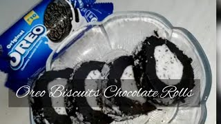 #OREO BISCUITS COCONUT ROLL I Easy and Simple l 3 Ingredient biscuit roll