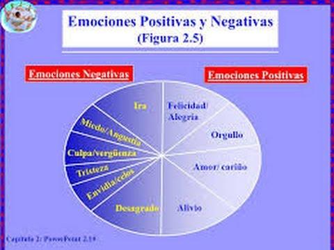 Nuestras Emociones Positivas y Negativas....¿Como nos Afectan ...