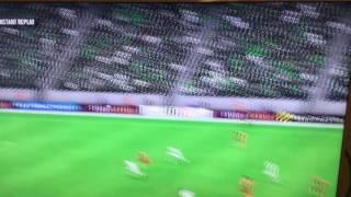Fifa 17 orta sahadan gol (Kadir göçek)