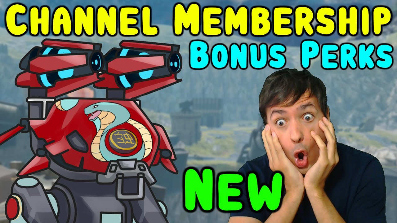 NEW Manni-Gaming & War Robots CHANNEL MEMBERSHIP Feature - WR Gameplay