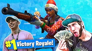 SQUAD TRICKSHOTTING w/ FaZe Banks! (Fortnite Battle Royale)