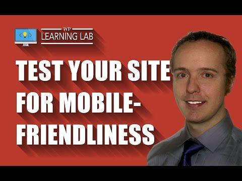 Google Mobile Friendly Test For Websites - Mobile Optimize To Avoid Mobilegeddon - WP Learning Lab - 동영상