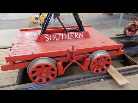 Hand and Pedal Gang Repair Rail Car