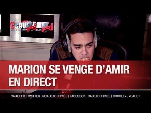 Marion se venge d'Amir en direct - C'Cauet sur NRJ