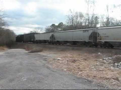 NS Freight South at Ooltewah, TN