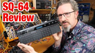 Korg SQ-64 Poly Sequencer review