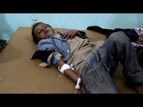 Dozens of children killed and injured in Saudi airstrike on bus in Yemen