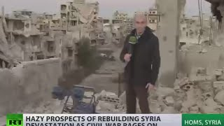 Ruins & Rubble: Hazy prospects for rebuilding Homs, Syria