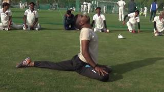 Baixar Players Practising yoga for Strength and Flexibility || PS SPORTS ACADEMY