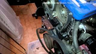 ᴴᴰ(Part 1) Toyota 4AGE 20 valve black top engine rebuild: Removing ancilliaries