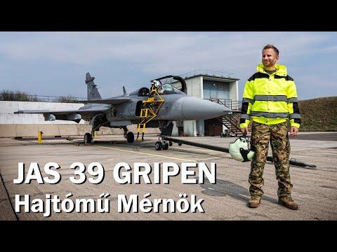 Magyar Légierő - JAS 39 GRIPEN Hajtómű Mérnök