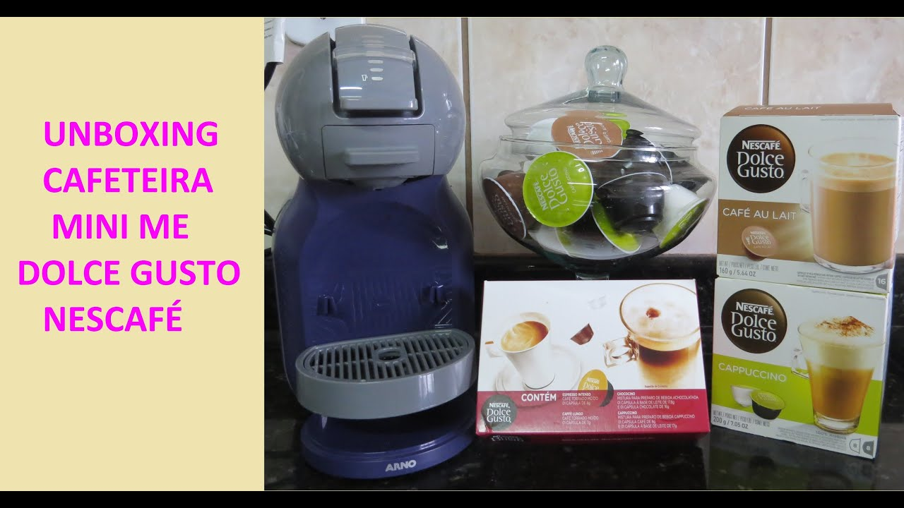 unboxing cafeteira dolce gusto mini me youtube. Black Bedroom Furniture Sets. Home Design Ideas