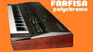 FARFISA POLYCHROME Analog Synthesizer 1979 | HQ DEMO