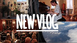 VLOG: CONCERTS in Germany and Italy, PRACTICING in Amsterdam