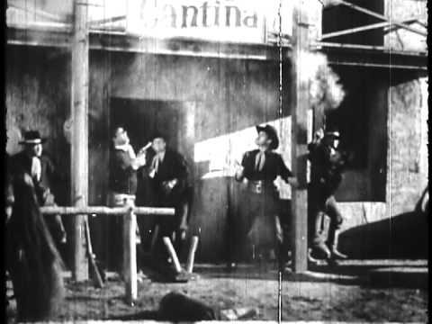 LONE RANGER 1938 serial, chapter 11, 16mm film sample