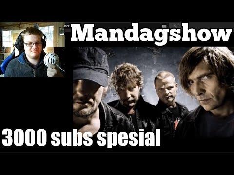 3000 Abonnent spesial (Splitter Pine karaoke)   Mandagshow