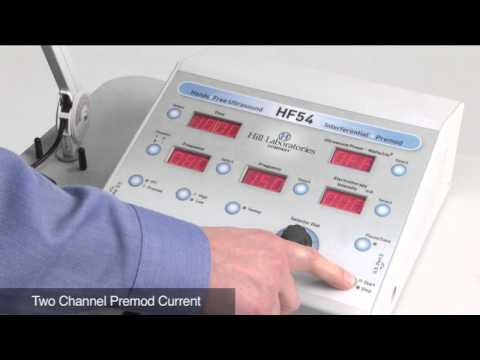 HF54 Hands Free Ultrasound Therapy With Interferential & Premod - Hill Therapeutics